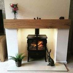 Most up-to-date Screen oak Fireplace Mantels Concepts Oak Beam Mantel Fireplace – Planed and Sanded Empty Fireplace Ideas, Wood Burner Fireplace, Inglenook Fireplace, Small Fireplace, Home Fireplace, Fireplace Surrounds, Fireplace Suites, Slate Fireplace Surround, Modern Fireplace Mantles