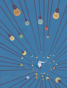 Conceptual Illustration by Francesco Bongiorni  Making ideas work - Strategy + business