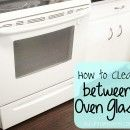 How to Clean between Oven Glass.  Never knew this was possible
