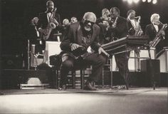 Ray Charles & his Orchestra in concert, prob. in France (c. 2000).