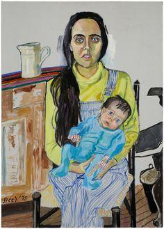 'Ginny and Elizabeth' Alice Neel  Art Experience NYC  www.artexperiencenyc.com