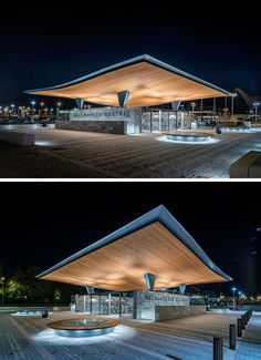 Architecture firm Tengbom, have designed the new entrance for Helsingborg…