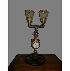 A Steampunk Custom Made Lamp