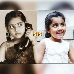 Cute mom and daughter  #Meena & #Nainika