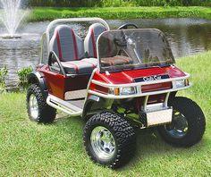 club car | CLUB CAR Golf Cart Photo Gallery Custom Golf Cart Bodies, Custom Golf Carts, Electric Off Road Vehicle, Ogio Golf Bags, Golf Cart Repair, Electric Golf Cart, Golf Score, Beach Buggy, Go Kart