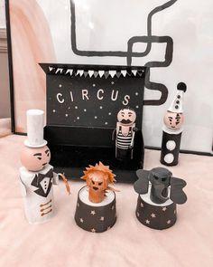 Nathalie - Moma Le Blog 🎈 sur Instagram: Un peu de magie dans ce monde 💫 Mini Circus in a box 🎪 De quoi occuper vos prochains mercredis/week ends 😅 . Il vous fait une boîte peinte…
