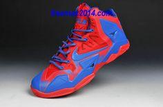 sale retailer f7e18 be923 Nike LeBron 11 Royal Blue-Fire Red  cheap  nike  shoes