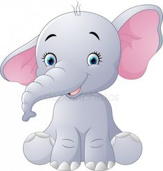 Similar vectors to 123329680 Cute baby elephant sitting isolated on white background Baby Elephant Nursery, Elephant Quilt, Cute Baby Elephant, Elephant Art, Elephant Tattoos, Baby Animal Drawings, Cute Drawings, Elephant Illustration, Cute Illustration