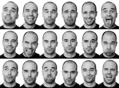 Facial Expressions - Joan Vicent Cantó Roig