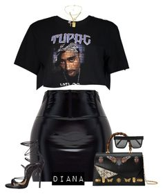 """Без названия #1162"" by diana-329 ❤ liked on Polyvore featuring Gucci, Victoria Beckham, Boohoo, Dsquared2 and Chanel"