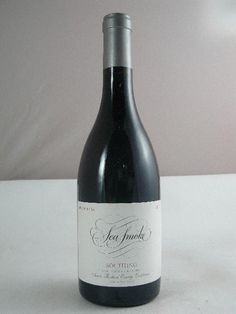 Sea Smoke Pinot Noir. We had this at dinner the other night and it was fantastic!