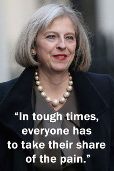 Theresa May quotes