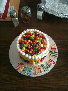 Skittles cupcake for sis-in-law | Yelp