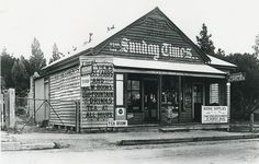 Mount Victoria General Store Blue Mountains, c1920, History NSW