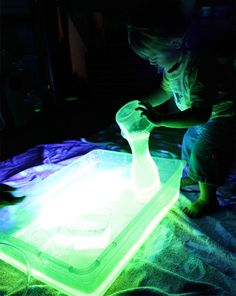 Glow Water and 10 More Awesome Science Experiments for kids