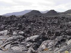 Great Rift in the Craters of the Moon National Monument