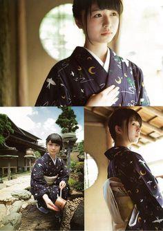 Innocent World - Rose Embroidered Collar Sailor Jumperskirt Japanese Kimono, Japanese Girl, Japan Woman, Star Beauty, Kawaii Girl, Cute Girls, Idol, Beautiful Women, Portrait