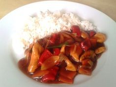 Sladko-kyselé thajské kuře s chilli :: Just FOOD Asian Recipes, Ethnic Recipes, Sweet And Salty, Ratatouille, Main Meals, Chicken Recipes, Food And Drink, Menu, Lunch