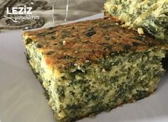 Corn Flour Pastry with Spinach - My Delicious Food - New Years Party Pizza Pastry, Delicious Desserts, Yummy Food, Homemade Beauty Products, New Recipes, Quiche, Banana Bread, Spinach, Tart