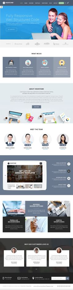 Highstand is simple, clean and Professional Responsive WordPress theme for multipurpose websites. It has wonderful 30 Different Home Pages style and amazing features. Download Now! http://themeforest.net/item/highstand-responsive-multipurpose-wordpress-theme/15578570?ref=Datasata