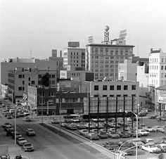 Downtown Flint in 1977