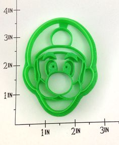 Luigi Cookie Cutter via Etsy 12th Birthday, Birthday Parties, Luigi's Mansion Dark Moon, Old Love, Party Planning, Cookie Cutters, Video Game, Projects To Try, Birthdays