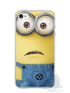 Capa Iphone 4/S Minions #5