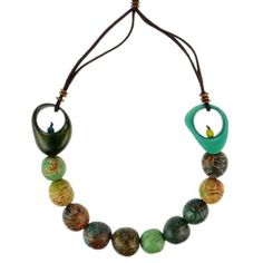 Kette CIRCLES multicolored Cool, Tagua 28 EUR