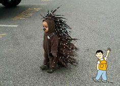 Disfraz niño erizo