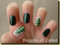 Raggio di Luna Nails Christmas #nail #nails #nailart