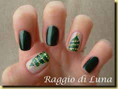 Raggio di Luna Nails Christmas #nail #nails #nailart