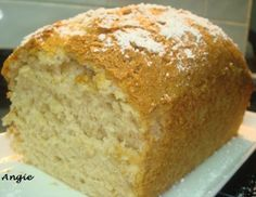con sabor a canela Banana Bread, Desserts, Food, Canela, Sweets, Deserts, Pound Cake, Food Cakes, Thanks