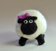 Our sheep ornament is needle felted with 100% Canadian wool. Each ornament is made to order so no two will be alike. You will receive an ornament similar to the one pictured. The ornaments are approximately 3 X 3 * only the sheep is included in the listing,other items are for display purpose only * Your heirloom ornament will come packaged in its own take out box. Payment- Paypal and credit card through Etsys direct checkout. Shipping- Canada Post regular parcel with tracking to Canadian ...