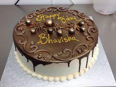 Choco - vanilla cake