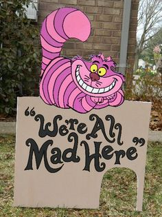 Hey, I found this really awesome Etsy listing at https://www.etsy.com/listing/209103238/foamboard-cheshire-cat-inspired-by-alice
