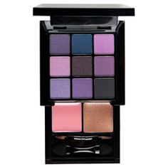 Nyx purple smoky eye kit! Ladies with brown eyes, a good purple eye is great to accentuate your natural hue