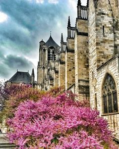 Photo Instagram, Instagram Posts, Bourges, Belle Photo, Notre Dame, Berry, France, Mansions, House Styles