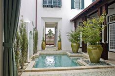 Residential Courtyard - Alys Beach, FL