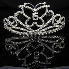 butterfly themed quinceanera | Quinceanera Tiaras | Quinceanera Crowns | Quince Headpieces