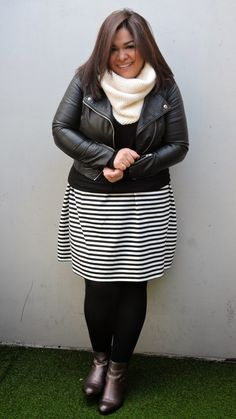 Plus Size Fashion for Women - Stripes Fever - Curvy Mood