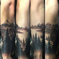 forest tattoo sleeve - Google Search