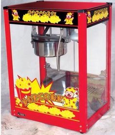 Popcorn machine hire Unlimited butter flavoured popcorn served in individual bags for all the guest to enjoy!