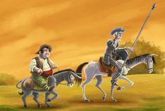 pinturas de el quijote de la mancha | El ingenioso Hidalgo Don Quijote de la Mancha