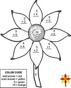 'Worm's Pals' is a fun printable math worksheet for first