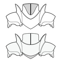 shoulder armor pattern - download
