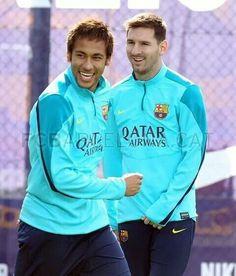 Messi et Neymar jr