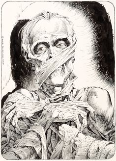 "Bernie Wrightson Monsters: Color the Creature Illustration ""The 