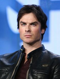 "Ian Somerhalder speaks onstage during the 'Years of Living Dangerously"" panel discussion at the Showtime portion of the Winter Television Critics Association tour (January 16, 2014)"