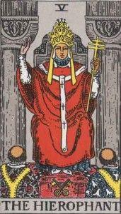 The Hierophant - Tarot card meaning | Tarot Explained