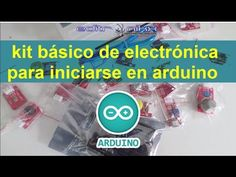 kit basico de electrónica para iniciarse en arduino